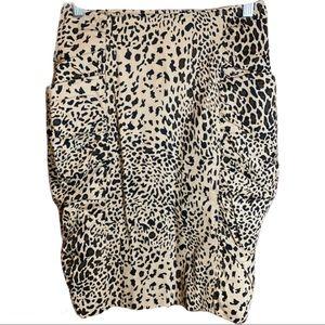 XXI Animal Print Skirt Tiger King Size Small
